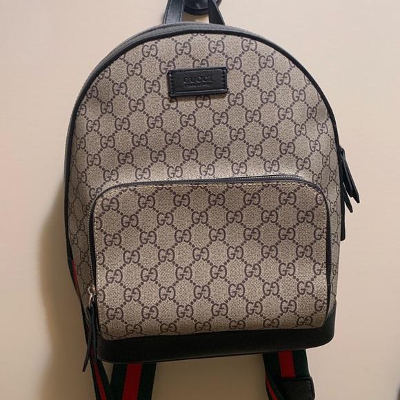 fake Gucci backpack